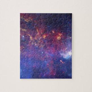 Centro de la galaxia de la vía láctea puzzle