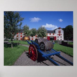 Centro de la herencia del whisky de Jamesons, Midl Póster