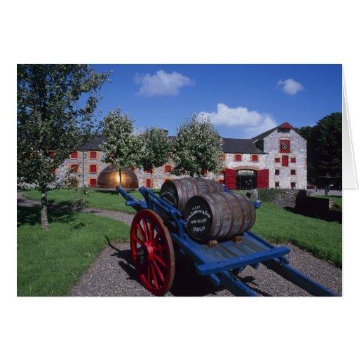 Centro de la herencia del whisky de Jamesons, Midl Tarjeta