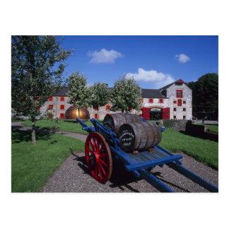 Centro de la herencia del whisky de Jamesons, Postal