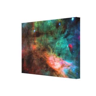 Centro de la nebulosa del cisne lienzo envuelto para galerías