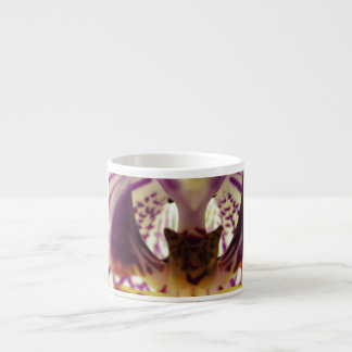 Centro de la orquídea taza espresso