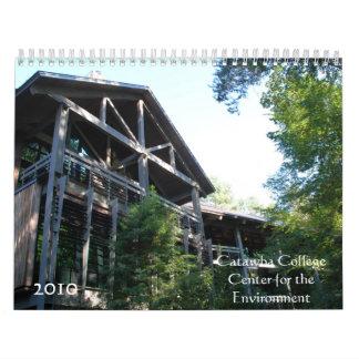 Centro de la universidad del Catawba para el Calendario De Pared