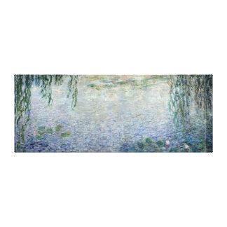 Centro de los sauces que lloran de Claude Monet el Lona Estirada Galerias