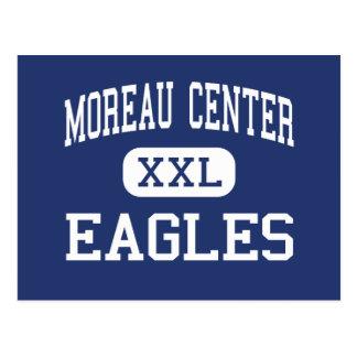 Centro de Moreau - Eagles - alto - Monroe Michigan Tarjeta Postal