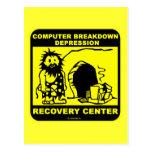 Centro de recuperación de la depresión de la postal