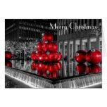 Centro de Rockefeller de la foto del navidad de Felicitaciones