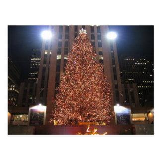 Centro de Rockefeller del árbol de navidad Postales