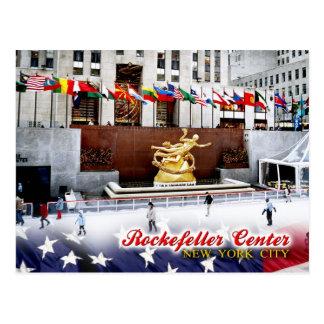 Centro de Rockefeller, New York City Tarjeta Postal