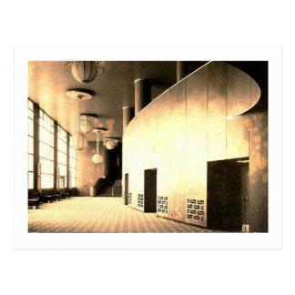 Centro de Rockefeller, salón del teatro, New York Postal