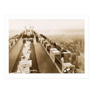 Centro de Rockefeller, tejado, vintage de New York Postal