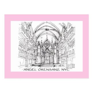 Centro del ángel en Nueva York Postal