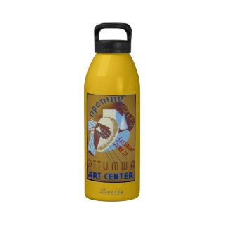 Centro del arte de Ottumwa Botella De Agua