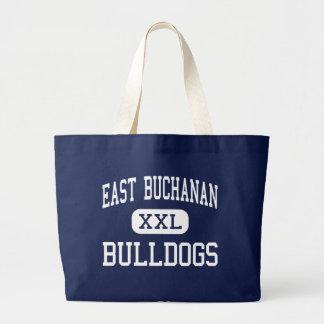 Centro del este Easton de los dogos de Buchanan Bolsa De Tela Grande