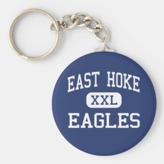 Centro del este Raeford de Hoke Eagles Llavero Redondo Tipo Pin