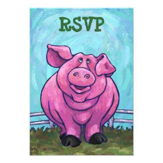 Centro del fiesta del cerdo anuncios