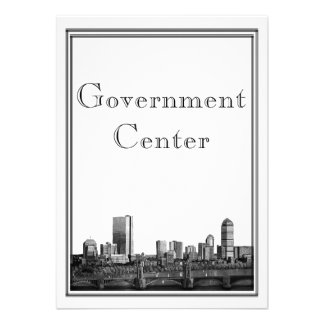 Centro del gobierno del boda del destino de Boston Anuncios