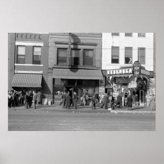 Centro del hobo de Omaha: 1938 Posters