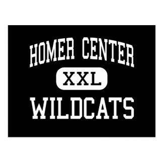 Centro del home run - gatos monteses - alto - tarjeta postal