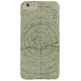 Centro del mapa de cielo meridional funda de iPhone 6 plus barely there