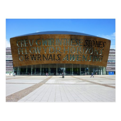 Centro del milenio, Cardiff, País de Gales Postal