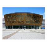 Centro del milenio, Cardiff, País de Gales Postales