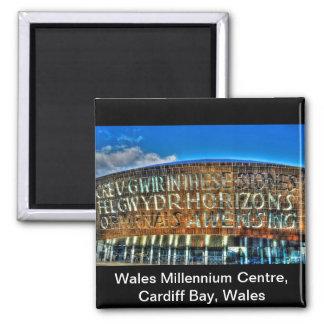 Centro del milenio de País de Gales de la bahía de Imán Cuadrado