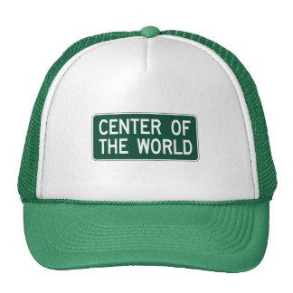 Centro del mundo, marcador del camino, Ohio, los Gorra