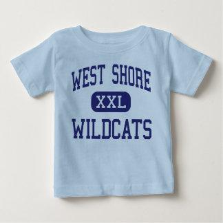 Centro del oeste Milford de los gatos monteses de T-shirts