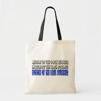 Centro del paquete bolsas lienzo