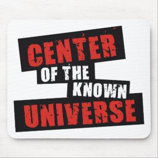 Centro del universo sabido tapete de ratones