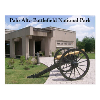 Centro del visitante de Palo Alto, campo de batall Tarjeta Postal