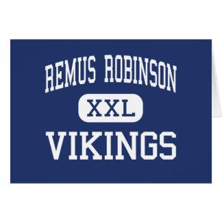 Centro Detroit de Remus Robinson Vikingos Tarjeton