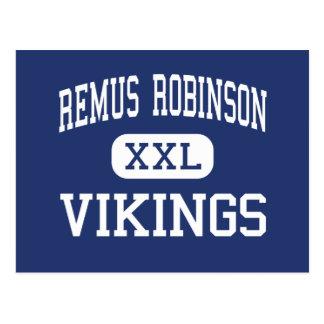 Centro Detroit de Remus Robinson Vikingos Postal