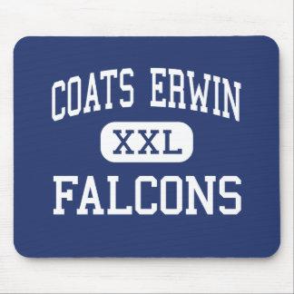 Centro Dunn de los Falcons de Erwin de las capas Alfombrillas De Ratón