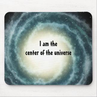 Centro espacial externo del universo alfombrillas de raton