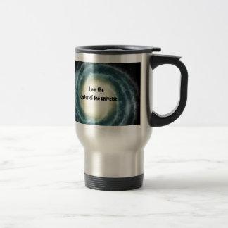 Centro espacial externo del universo tazas de café