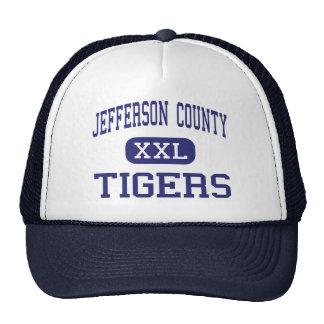 Centro Fayette de los tigres del condado de Jeffer Gorras