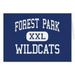 Centro Franklin de los gatos monteses de Forest Pa Tarjetón