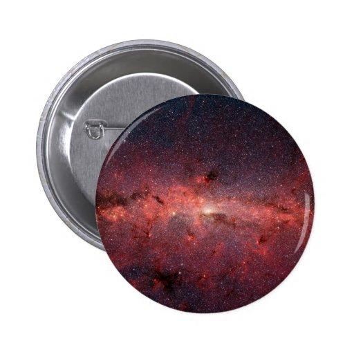 Centro galáctico de la vía láctea, estrellas, nube pins