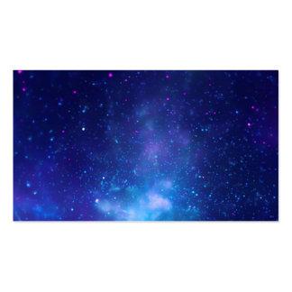 Centro galáctico de las radiografías plantilla de tarjeta de visita