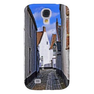 centro histórico de Courtrai, Bélgica Funda Para Galaxy S4