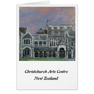 Centro I de los artes de Christchurch Tarjeta De Felicitación
