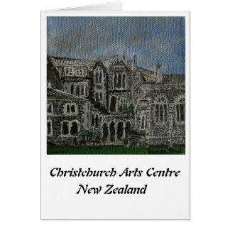 Centro II de los artes de Christchurch Tarjeta De Felicitación