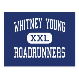 Centro joven Detroit de los Roadrunners de Whitney Tarjeta Postal