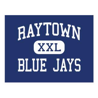 Centro Kansas City de los arrendajos azules de Ray Tarjetas Postales