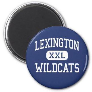 Centro Lexington de los gatos monteses de Lexingto Imán De Frigorifico