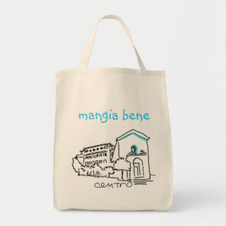 Centro Logo GROCERY TOTE Canvas Bag