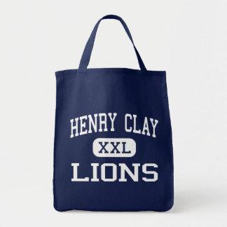 Centro Los Ángeles de los leones de Henry Clay Bolsas De Mano