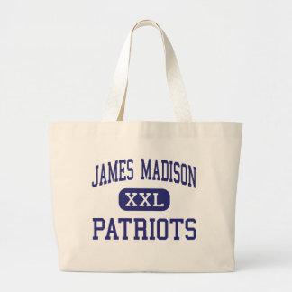 Centro Madisonville de los patriotas de James Madi Bolsa De Mano